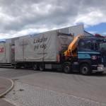 Transport av bodmoduler med bil 5