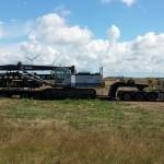 60 tons pålkran på bil 22