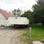 Transport och inlyft av Pool, Förra bil 8